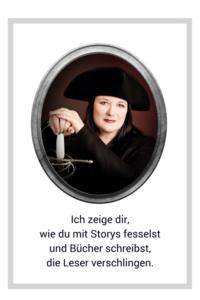 Barbara Drucker – Ich zeige dir, wie du mit Storys fesselst und Bücher schreibst, die deine Leser verschlingen.